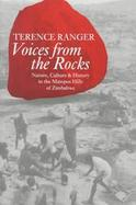 Voices from the Rocks Nature, Culture & History in the Matopos Hills of Zimbabwe cover