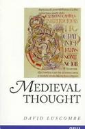 Medieval Thought cover