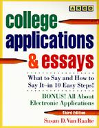 College Applications and Essays cover