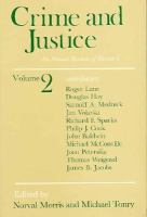 Crime and Justice (volume2) cover