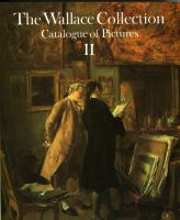 The Wallace Collection Catalogue of Pictures II French Nineteenth Century (volume2) cover