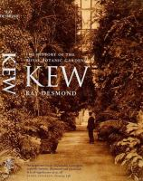 Kew The History of the Royal Botanic Gardens cover