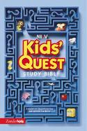 Nirv Kids' Quest Study Bible Answers to Questions You Ask About the Bible cover
