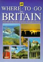 AA Where to Go in Britain cover