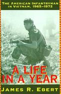 A Life in a Year The American Infantryman in Vietnam, 1965-1972 cover