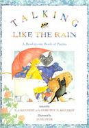Talking Like the Rain A Read-To-Me Book of Poems cover