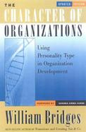 The Character of Organizations, Updated Edition cover