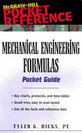 Mechanical Engineering Formulas Pocket Guide cover