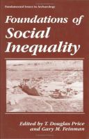 Foundations of Social Inequality cover