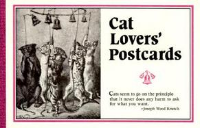 Cat Lovers: Postcard Book cover