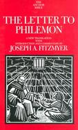 The Letter to Philemon: A New Translation with Introduction and Commentary cover