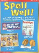 Spell Well! cover
