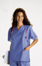 Ladies-VNeck-Scrub-TopHunter-GreenSize-XXSmall